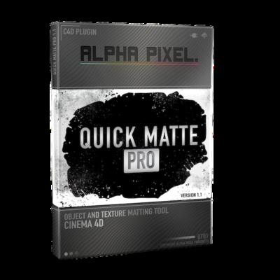Quick Matte Pro Plugin for Cinema 4D