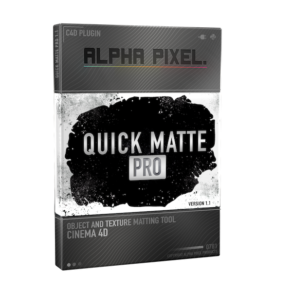 Quick Matte Pro Plugin for Cinema 4D