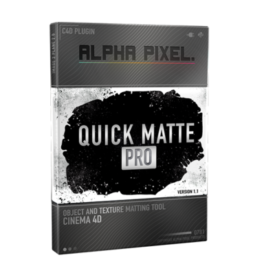 Quick Matte Pro Plugin Product Case