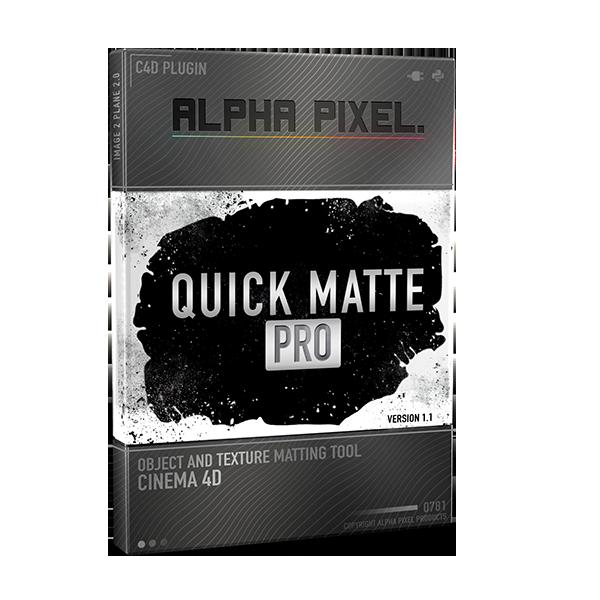Quick Matte Pro Plugin Product Case