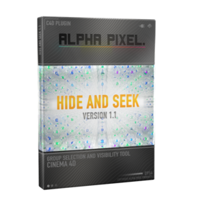 Hide And Seek Plugin for Cinema 4D