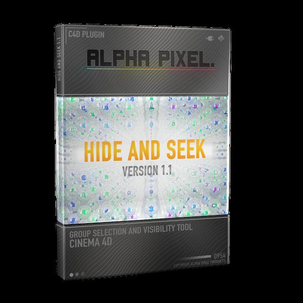 Hide And Seek Plugin for Cinema 4D