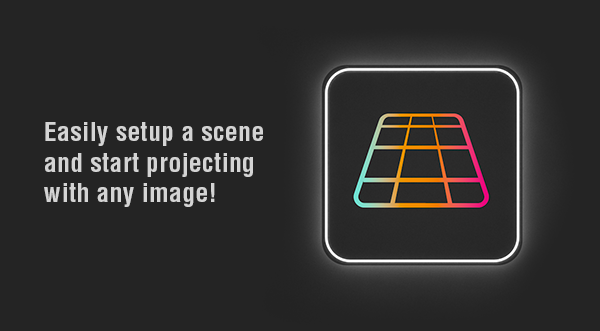 Cinema 4D Modeling Cam 2.0 Scene Setup Description with multicolor grid icon