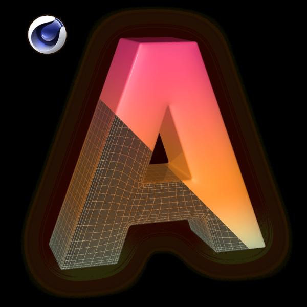 C4D Plugin: Model Fonts – Alpha Pixel